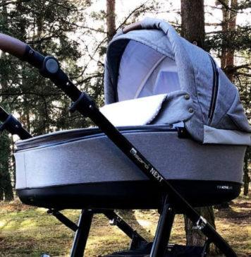 Wygodny wózek dla dziecka