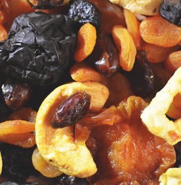 Idealne źródło witamin na zimę – suszone owoce