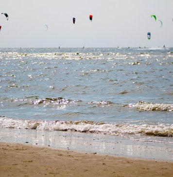 Kitesurfing jesienią - gdzie pojechać?