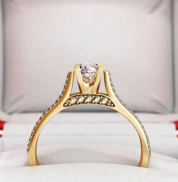 Najpiękniejsze pierścionki zaręczynowa świata - co noszą gwiazdy?