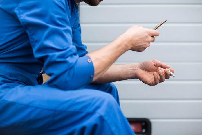 Rzucanie palenia z aplikacją